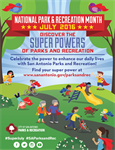 Discover your super powers during National Park and Recreation Month