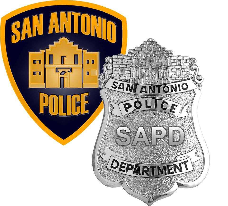 San Antonio Police Department (SAPD) patch and badge