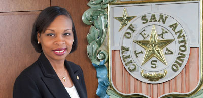 Mayor Ivy R. Taylor and City Seal