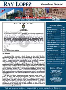 District 6 Newsletter - Fall 2011