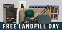 FREE LANDFILL DISPOSAL DAY