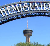 Hemisfair Park and Tower of the Americas